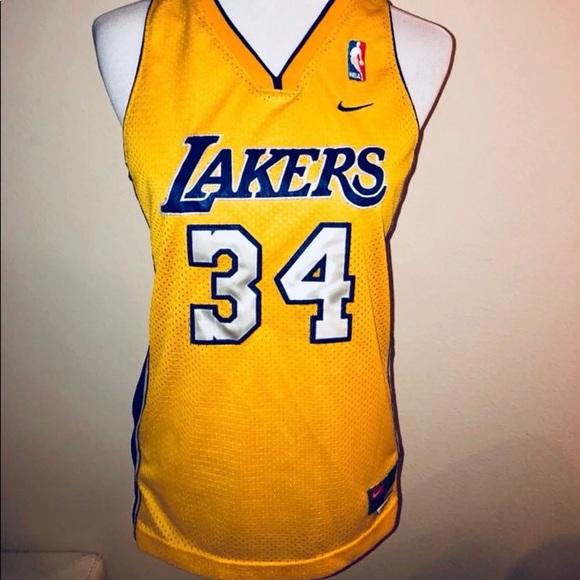 NWT Nike LA Lakers O'NEAL Shaq Jersey Sz Large